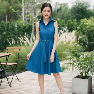 Shirt Dress Denim Dress Summer Casual Vintage Cozy Dress Swing Skirt Party Look