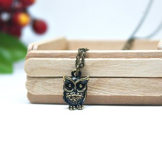 Alloy Necklace - Lonely Owl - Limited X1-