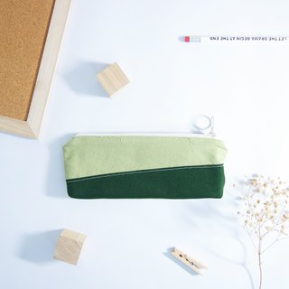 Summer colorful hand-made pencil case - four colors (blue / red / yellow / green)