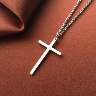 Exclusive Order - Customized cross necklace/Unique/White/Sterling Silver/By hand【SZN1707】