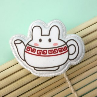 Snack Series - (tea) cloth brooch / badge (BDS10)