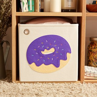 American kaikai & ash Toy Storage Box - Grapes Colorful Donuts