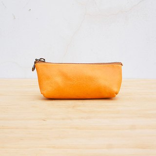 New leather の boat type three-dimensional storage bag / coin purse (customizable lettering)