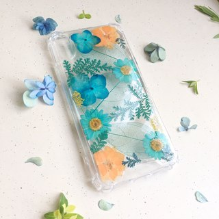 Dear Tiffany:: Island Paradise :: pressed flower phonecase