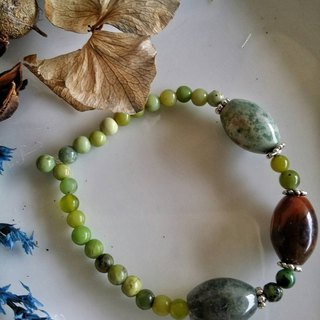 Valentine's Day [elegant] hand-made X natural stone bracelet