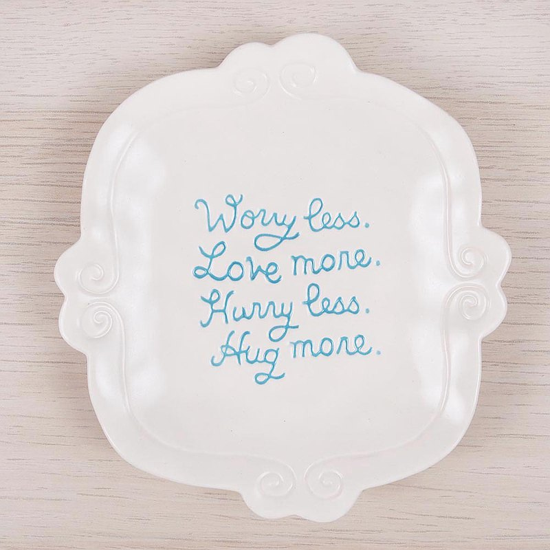 US Life Jewelry Plate [Hallmark-Text Gift]