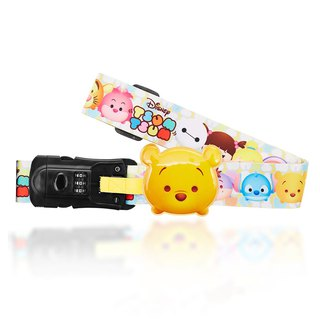 Disney TSUMTSUM with luggage weighing belt - Pooh