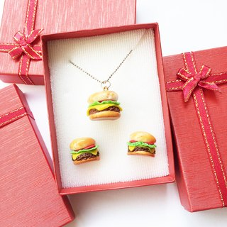 Hamburger jewerly Box set 2