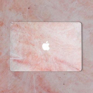 Original Pink Marble Macbook Label Protector