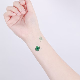Surprise Tattoos / Lucky Clover Temporary Tattoo