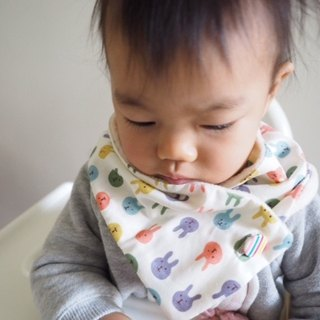 Cute Colorful rabbit baby/ kid scarf