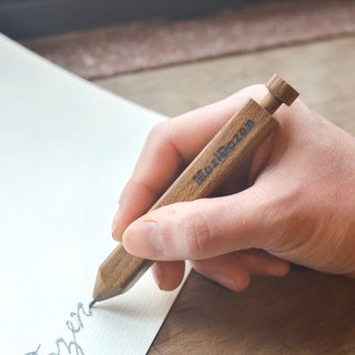 Automatic pencil teak 2.0MM hand-made wood products free hand-lettering