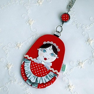 Matryoshka path Case maid / red (MP-133c)