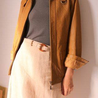 Janna Jacket Caramel Color Leather Jacket (Old Fashioned)
