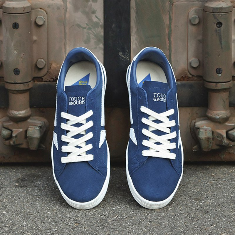 TOUCH GROUND Vintage Rookie NAVY Unisex SNEAKER P0000BJW