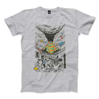 Escape Color Storm - Deep Hemp Grey - Neutral T-Shirt