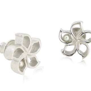 925 SILVER BAUHINIA EARRINGS