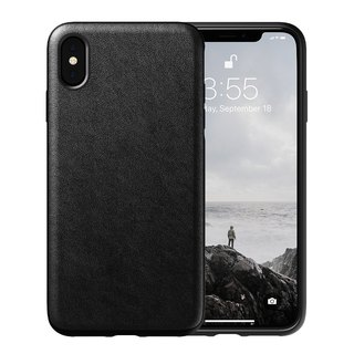 American NOMAD iPhone Xs Max Classic Leather Drop Protection Case - (855848007847)