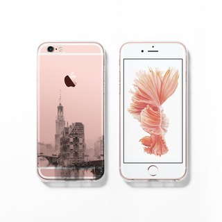 iPhone 6 case, Clear iPhone 6s case, Decouart original design C127