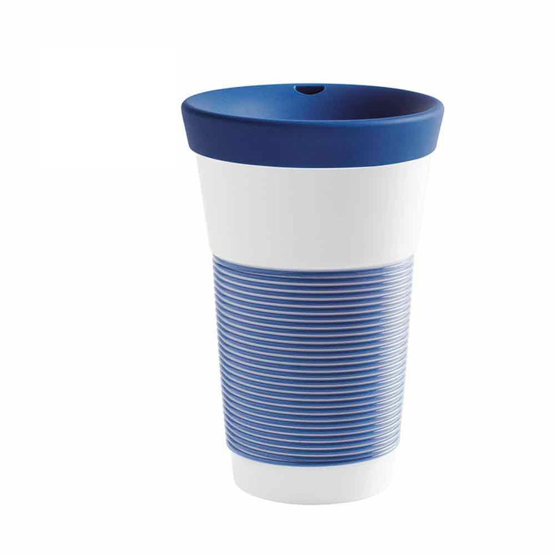 Cupit coffee to go mug 0,47 l Magic Grip deep sea blue (with lid)