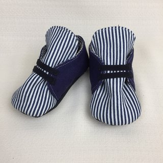 Va handmade shoes striped casual shoes