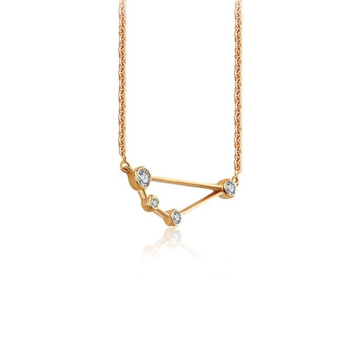 Capricorn Diamond Necklace