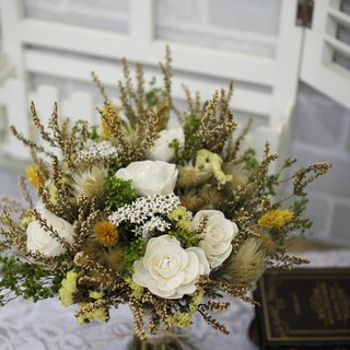 [Department of Natural dried flower bouquet wedding] - eternal flower / dried flower / bouquet jewelry / wedding bouquets Bouquet / Flower Ceremony