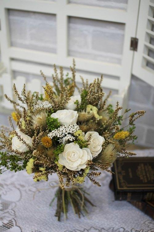 Department of Natural dried flower bouquet wedding eternal flower