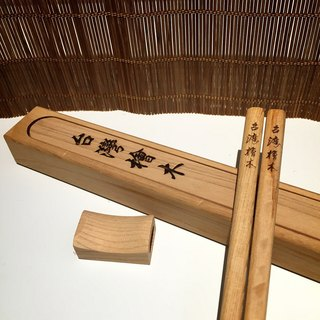 Taiwan cypress wood chopsticks L