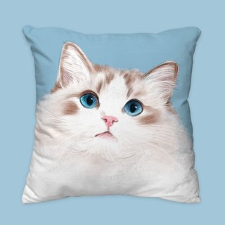 [I will love you forever] Classic puppet cat pillow animal pillow / pillow / cushion