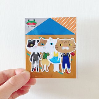 E*group House Series A Orange bottom waterproof sticker styling sticker sticker package