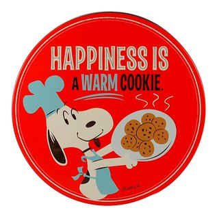Snoopy Tin Storage Box Handmade Cookies - Empty Box [Hallmark-Peanuts Snoopy Storage/Others]