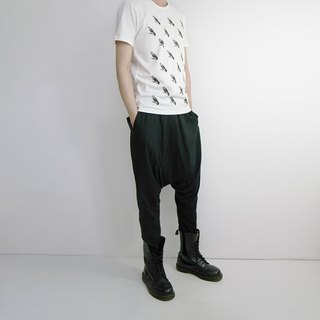 I. A. N Design Kyoto crow basic short-sleeved organic cotton Organic Cotton S / M / L