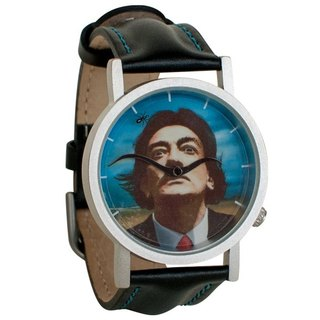 Dali beard with ant watch (neutral table)
