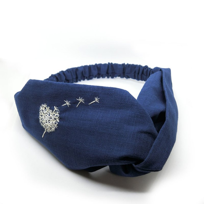 [Art] Dandelion 100% Pure Handmade Embroidery Hairband