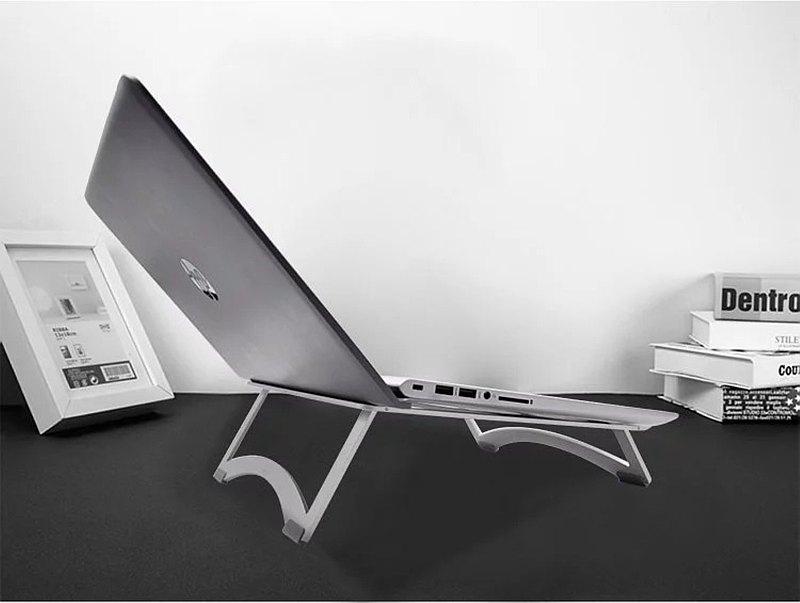 加大款 17吋筆電適用 Raymii R23 雙折疊 鋁合金筆電支架 4mm厚度