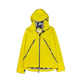 oqLiq 2016 AW - Root - Water windbreaker (yellow)
