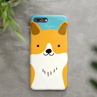 iphone case cute yellow smiley dog for iphone5s,6s,6s plus, 7,7+, 8, 8+,iphone x
