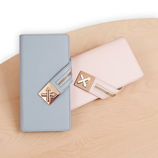 [Hong Kong, Macao and Taiwan] MBS long leather ladies wallet can be put into the wallet wallet
