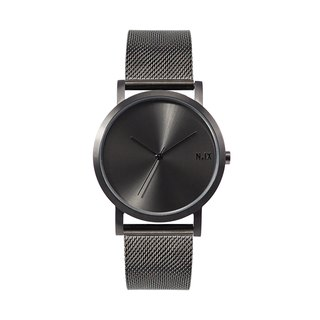 Minimal Watches : Metal Project Vol.02 - Gunmetal Mesh
