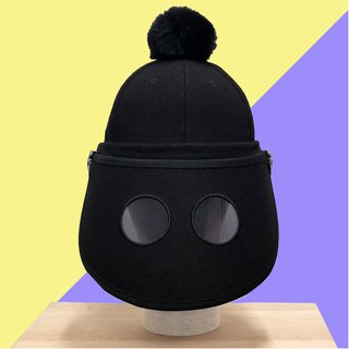FIRST INVENTED CUTE FUN FUNCTIONAL WOOL UV PROTECTION CAP