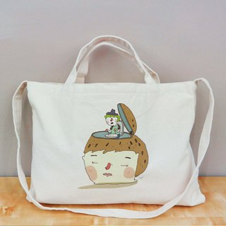 Good difficult Cultural & Creative wind horizontal canvas bag