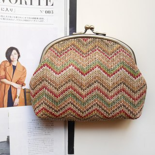 I want to leave the cosmetic bag / debris bag / mouth gold package [Made in Taiwan]