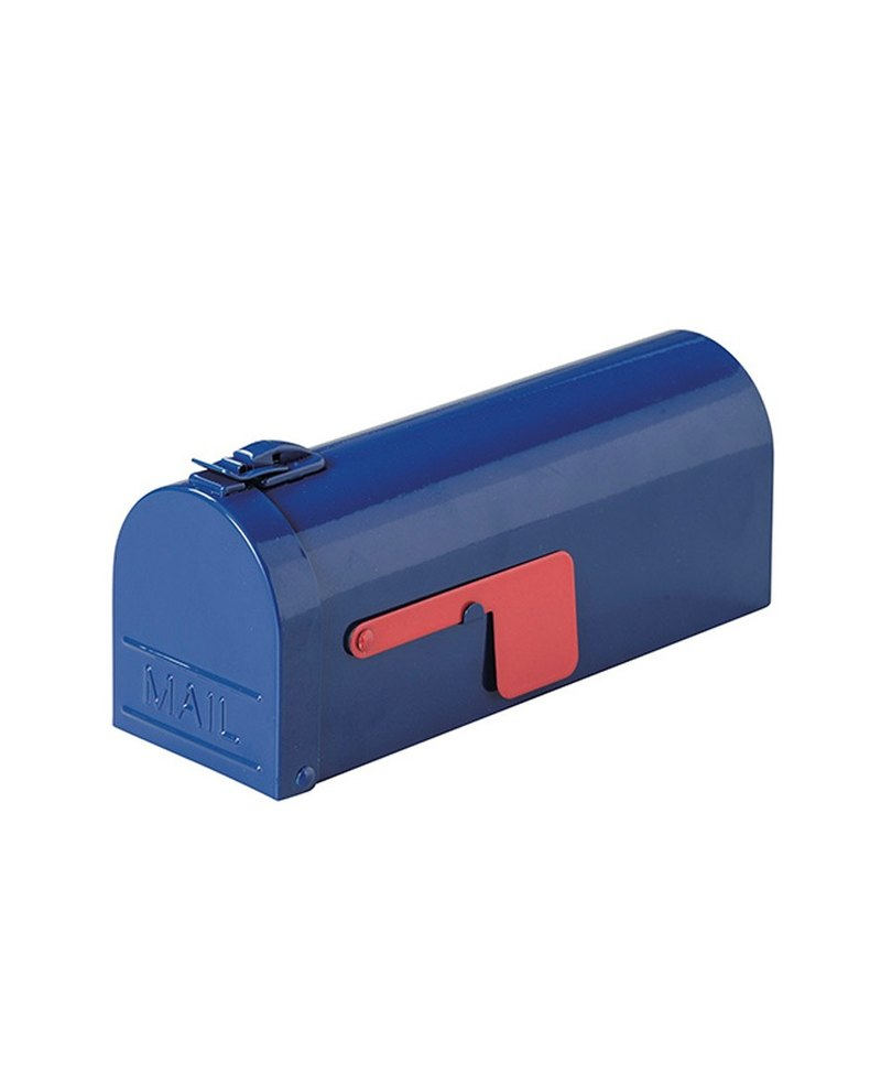 SUSS-Japan Magnets American retro letter box storage box / pencil case / pencil case (blue) spot