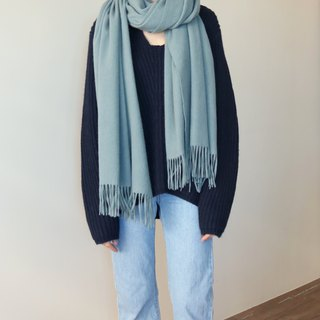 Wool classic scarf (can be customized other colors)