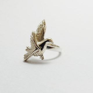 zo.craft peace dove Ring / 925 Silver