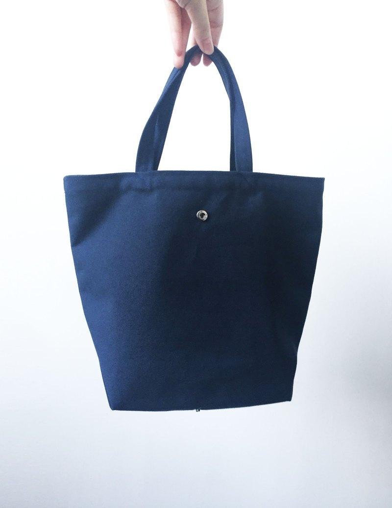 Wahr_黑藍紅灰  購物袋 環保袋 可折疊
