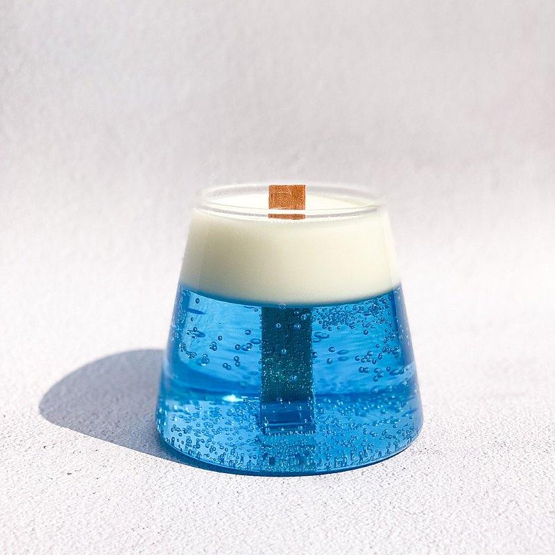 富士山蠟燭   手工香氛蠟燭