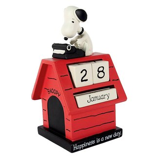 Snoopy handmade calendar sculpture - Snoopy and Red House [Hallmark-Peanuts Snoopy]
