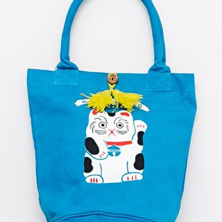 Lucky lucky cat and rabbit tote bag (two models) in pre-order 7ISP8229